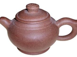 Globular Purple Clay Teapot (HW-02)