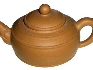Globular Purple Clay Teapot (HW-10)