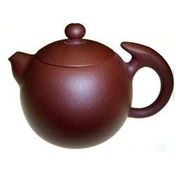 Globular Purple Clay Teapot (TL-13)