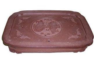 Yixing Purple Clay Tea Boat (B01)
