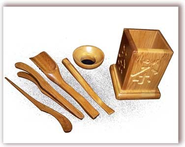 6 Piece Tea Tools Set (T2)