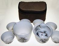 Porcelain Travel Set - Landscape