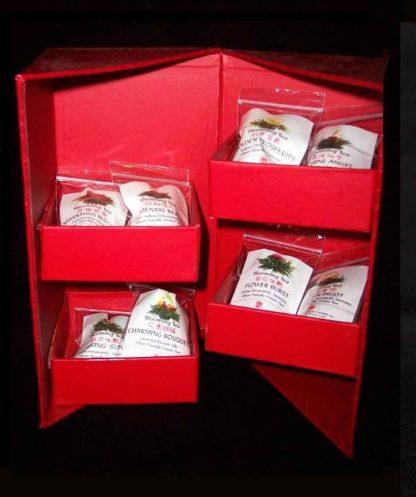 Hidden Treasure Blooming Tea Gift Box (8 Varieties)