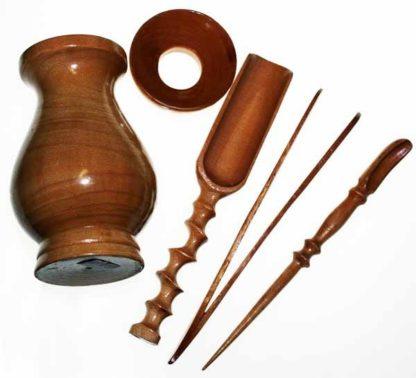 Wooden Tea Tools Set (T5)