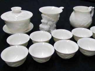 13 Piece Bone China Tea Set