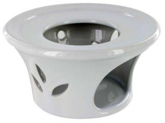 Ceramic Teapot Warmer - White