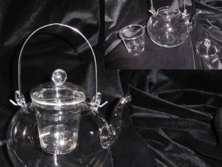 Glass Teapot With Strainer 1600ml (GT02)