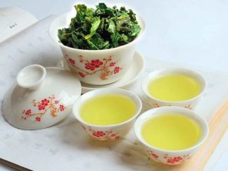 Bone China Gaiwan & Cups Tea Set