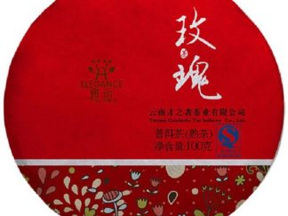 Rose Pu-Erh Tea Cake 100g (2-3Yrs)
