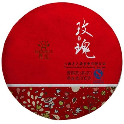 Rose Pu-Erh Tea Cake 100g (2-3Yrs)